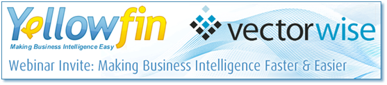 Yellowfin VectorWise Webinar Banner